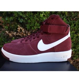 Nike Air Force 1 Ultra Force Dark Team Red shoes